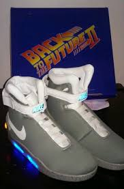 back to the future nike air mag replica shoes new in box size 10