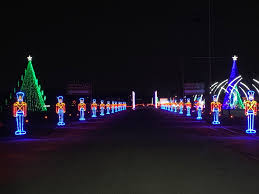 Christmas Lighted Soldiers Holiday Lights Bring The Joy Of The Season To The State