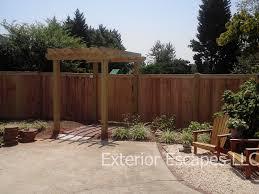 exterior wood fences. fences exterior wood