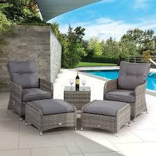 supremo barcelona dual recliner outdoor