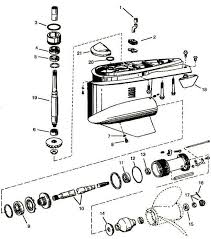 volvo penta omc cobra sx omc parts drawing lower stern drive