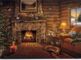 Small Picture Fireplace Design Wallpaper