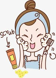 washing face clipart. Exellent Face Wash Your Face Face Clipart Hand Painting Character PNG Image And Clipart On Washing W