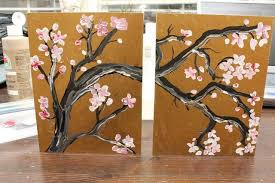 cherry blossom wall art diy