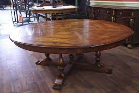 10 seat round extendable dining table