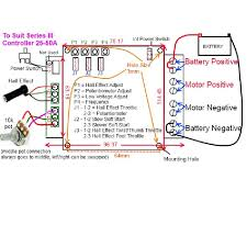12v 24v 36v 48v dc motor speed control 50a pcb model high current dc motor speed control 25 or 50 amps 25 50a diagram