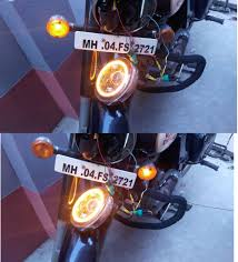 Light Angel Troubleshooting Royal Enfield Side Indicator Problem With Angel Eye Fixed
