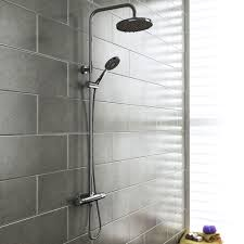 modern showers with concealed shower valves  victorian plumbing uk