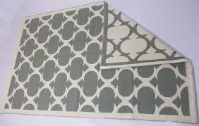 cotton jacquard rug