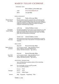 Cosy How To Do A Good Resume