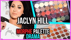 jaclyn hill palette release drama morphe cosmetics