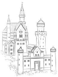 Disegno Di Castello Neuschwanstein Da Colorare Disegni Da Colorare