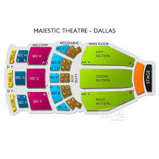 Majestic Theatre San Antonio Tx Seating Chart Punctual Majestic Theater Dallas Box Seats Standford Stadium