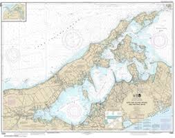 Shinnecock Bay Nautical Chart 12358 New York Long Island Shelter Island Sound And Peconic Bays Nautical Chart