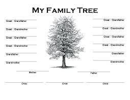 Family Tree Templates Kids Family Tree Templates Kids Template Genealogy Webbacklinks Info