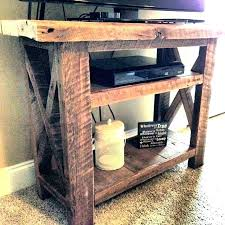 homemade tv stand diy corner with fireplace