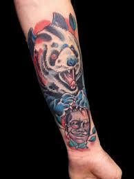 тату панды татуировка панда фото эскизы и значения