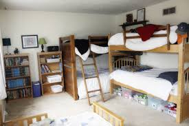 Kids Shared Bedroom How Five Boys Share One Bedroom My Blessed Home