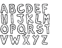 Small Picture Free Coloring Pages Alphabet Letters Free Desktop Coloring Free
