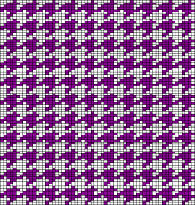 Houndstooth Knitting Pattern Chart Oddknit Free Knitting Patterns Charts Tessellating