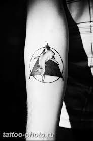 фото тату треугольник с кругом 11122018 044 Triangle With