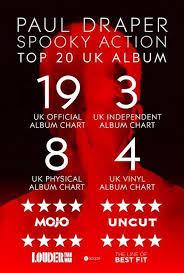Spooky Action In Uk Top Twenty Album Charts Paul Draper