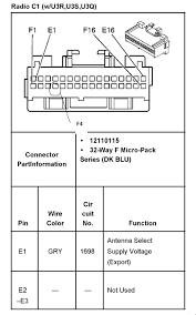 car radio stereo audio wiring diagram 2003 Gm Radio Wiring Diagram GM Delco Radio Wire Diagram