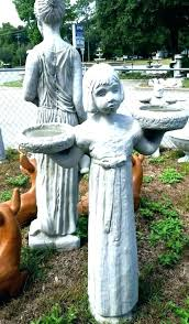 yard statues concrete statue outdoor yard statues concrete statues for garden bird