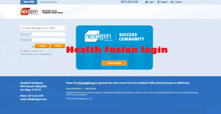 Health Fusion User Guide And Health Fusion Log In Procedure