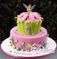 Two Tier Fairy Cake Ac229 Let Them Eat Cake In 2019 Tinkerbell