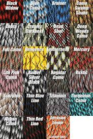 Color Chart Gslings