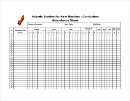 attendance spreadsheet excel 12 attendance sheet templates free word excel pdf documents