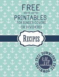 Printable Binder Inserts Free Printables Set For Binder Covers Or Binder Dividers