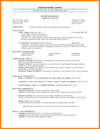 Targeted Resume Example Resume And Cover Letter Resume And Cover