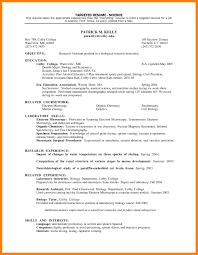 Targeted Resume Template Targeted Resume Example Resume And Cover Letter Resume And Cover 24