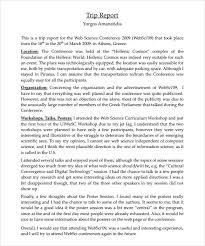 Trip Report Template Under Fontanacountryinn Com