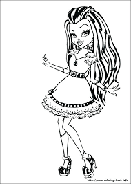 Monster High Pets Coloring Pages Coloring Monster High Pets Coloring
