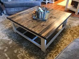 diy farmhouse coffee table 731