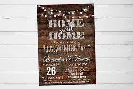 Housewarming Party Invitation, Housewarming Shower Invite, Housewarming  Party Invitation Wood, House Warming Invitation