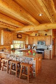 Best Images About Log HomesCabins On Pinterest - Interior log homes