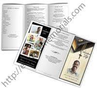 funeral pamphlet funeral pamphlet memorial pamphlets service handouts