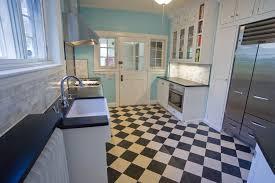 black and white tile floor kitchen. Kitchen Floor Marmoleum Black White Checkerboard Tiles And Tile