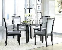 glass dining sets uk glass round dining room table shabby chic dining table chairs elegant dining