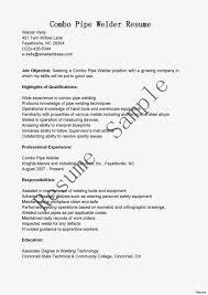Welding Apprentice Resume Examples Pipefitter Sample Best Images On