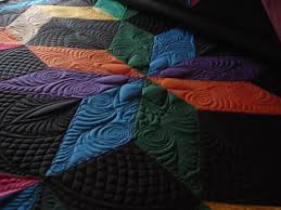 Image result for carpenter's star machine quilting | Quilts ... & Amish star, machine quilted KATHEREN NOTE: I really like the Amish colors  would like to make this quilt. Adamdwight.com