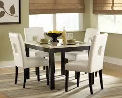 Dining Room Table Sets Leather Chairs Collection Best Decorating Ideas