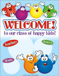 Welcome Chart Images Welcome Smiley Faces Chart Printable Charts And Signs