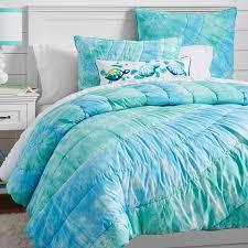 dunes tie dye cotton quilt sham