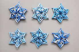How To Make A 3d Snowflake 3d Snowflake Templates Free Printable Templates Coloring