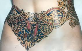 кельтские тату кельский узор тату трайбл